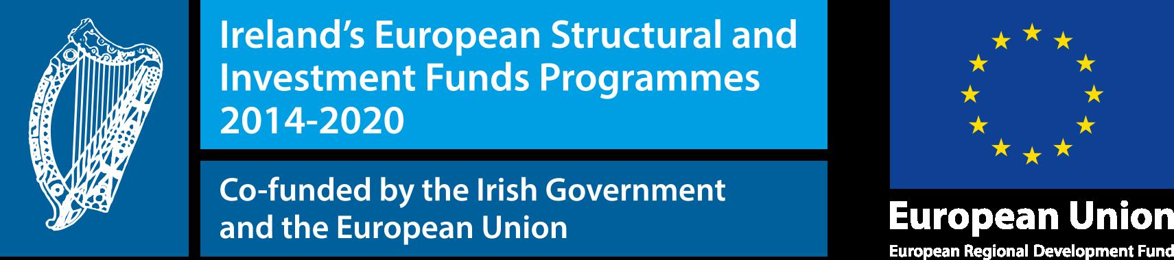 EU funding logos